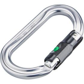 Petzl OK Karabine Ball-Lock sort/sølv